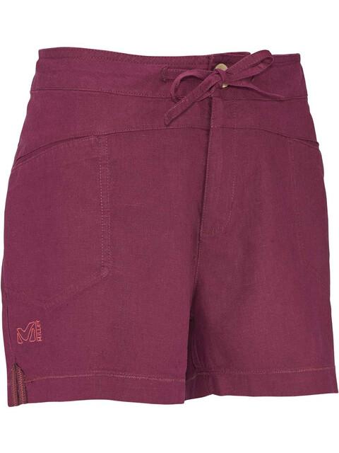 Millet W's Rock Hemp Shorts Velvet Red